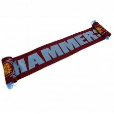 West Ham United F.C. Scarf HM