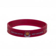 West Ham United F.C. Silicone Wristband CT