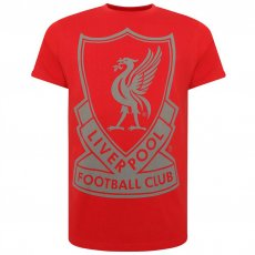 Liverpool F.C. Liverbird T Shirt Mens Red M