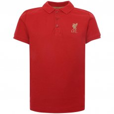 Liverpool FC Red Polo Shirt Junior Red 5/6