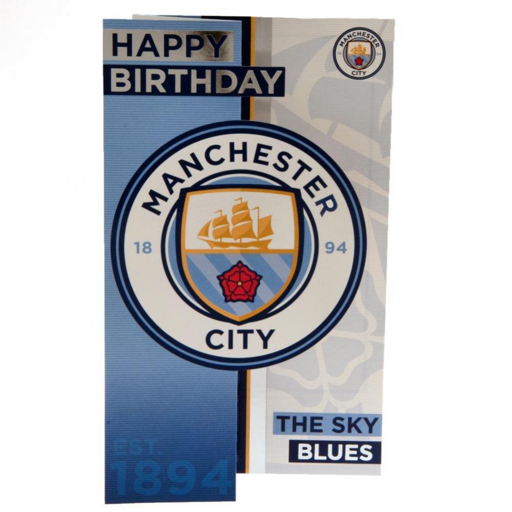 Manchester City F.C. Birthday Card