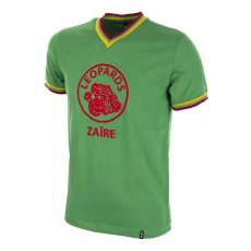 Zaire World Cup 1974 Qualification Short Sleeve Retro Football Shirt