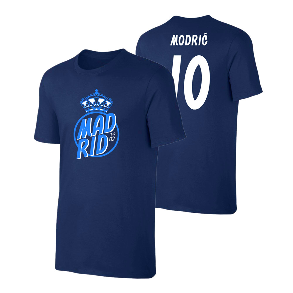 buy popular e4b0c 504c4 Real Madrid 'Crown' t-shirt MODRIC, dark blueSA000105